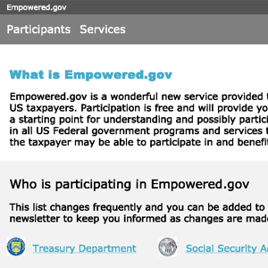 Tax Design Challenge Submission, Empowered.gov, thumbnail