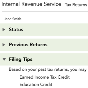 Tax Design Challenge Submission, TaxReturn.gov, thumbnail